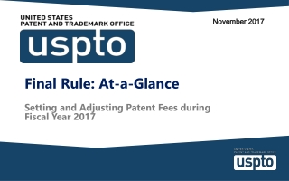 Trademark Updates from the USPTO