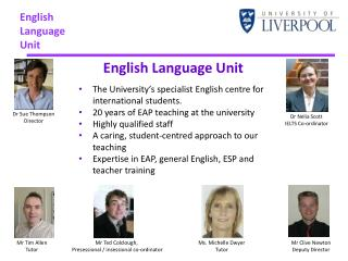 English  Language Unit