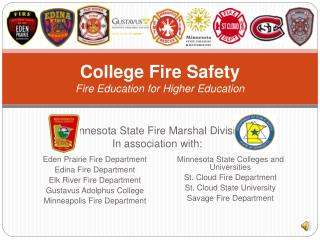 College Fire Safety Fire Education for Higher Education