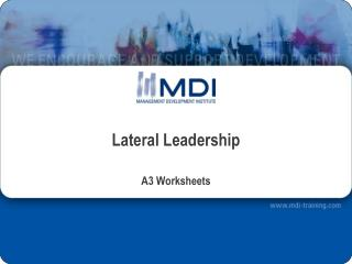 Lateral Leadership