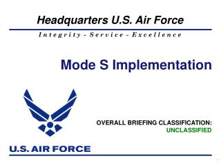 Mode S Implementation