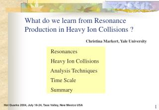 What do we learn from Resonance Production in Heavy Ion Collisions ?