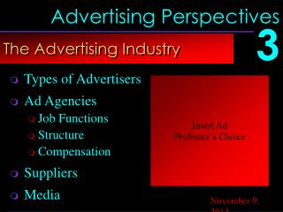 Advertising Perspectives