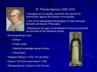 "a comparison of the philosophy of aristotle and st thomas aquinas The link below will take you the latin texts of thomas aquinas' commentaries on aristotle saint thomas aquinas' commentaria in aristotelem the picture above is part of an image of saint thomas aquinas ""confounding"" the muslim philosopher averroës (arabic: ibn rushd) the whole thing is depicted below averroës and aquinas both."