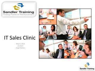 IT Sales Clinic