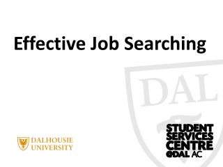 Effective Job Searching