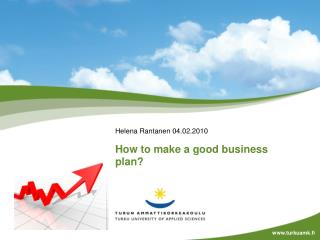 How to make a good business plan?