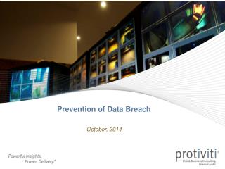 Prevention of Data Breach