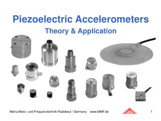 Piezoelectric Accelerometers Theory & Application