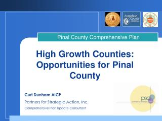 High Growth Counties:  Opportunities for Pinal County