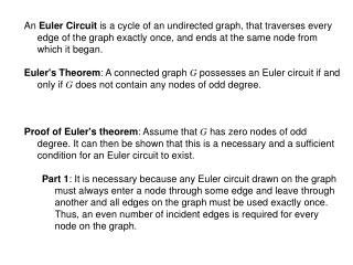 Proof of Euler's theorem Part 2 :