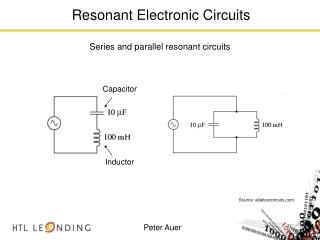 Resonant Electronic Circuits
