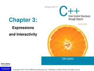 Chapter 3: Expressions and Interactivity