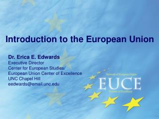 Introduction to the European Union
