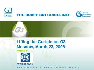 THE DRAFT GRI GUIDELINES