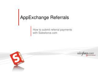 AppExchange Referrals