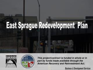 East Sprague Redevelopment  Plan