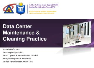 Data Center Maintenance &  Cleaning Practice