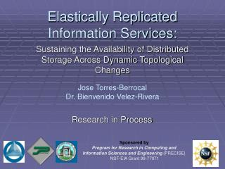 Elastically Replicated Information Services: