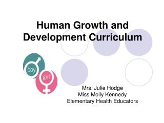 Human Growth and Development Curriculum