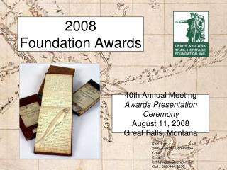 2008 Foundation Awards