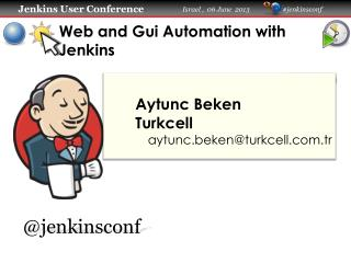 Web and Gui Automation with Jenkins