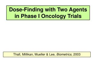 Dose-Finding with Two Agents in Phase I Oncology Trials