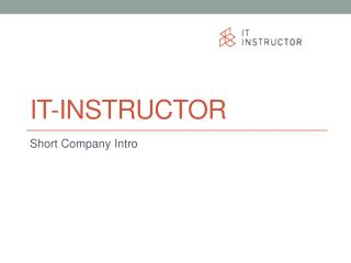 IT-Instructor