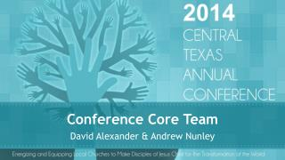 Conference Core Team
