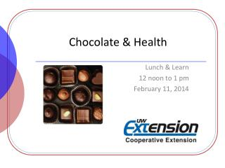 Chocolate & Health