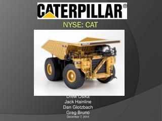 NYSE: CAT