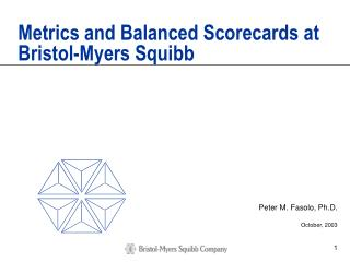 Metrics and Balanced Scorecards at Bristol-Myers Squibb