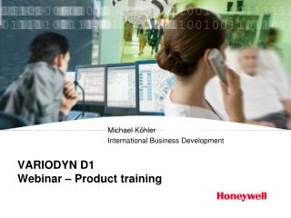 VARIODYN D1 Webinar – Product training