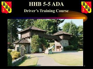 HHB 5-5 ADA
