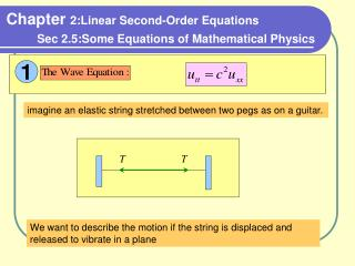 Chapter  2:Linear Second-Order Equations