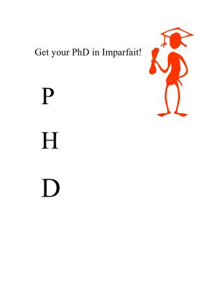 Get your PhD in Imparfait!