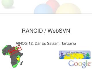 RANCID / WebSVN