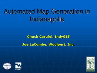 Automated Map Generation in Indianapolis