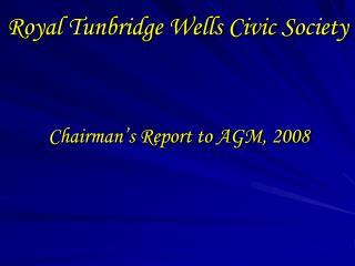 Royal Tunbridge Wells Civic Society