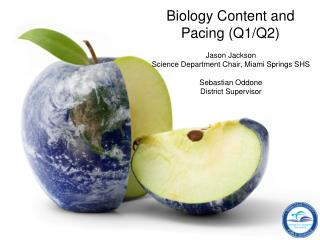 Biology Content and Pacing (Q1/Q2)