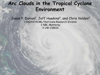 Arc Clouds in the Tropical Cyclone Environment