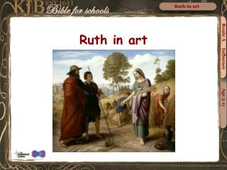 Ruth in art