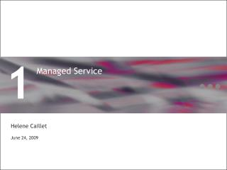 Managed Service
