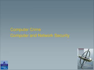 Computer Crime Computer and Network Security