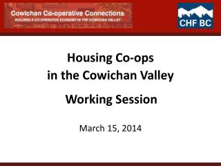 Housing Co-ops
