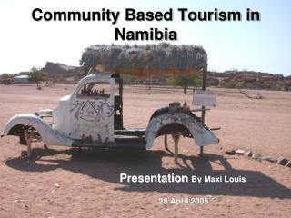 Community Based Tourism in Namibia