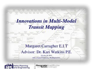 Innovations in Multi-Modal  Transit Mapping