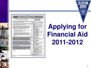 Applying for  Financial Aid     2011-2012