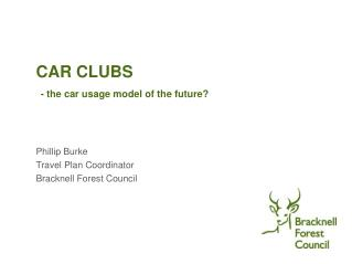 CAR CLUBS - the car usage model of the future?