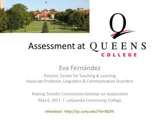 Assessment at